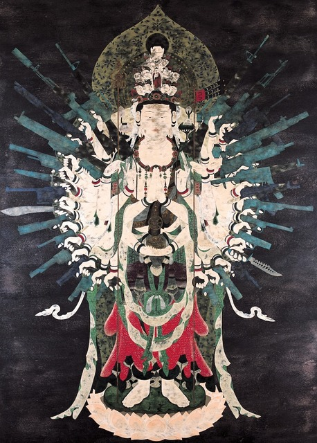 , 'Neo Thousand-armed Kannon,' 2002, Japan Society