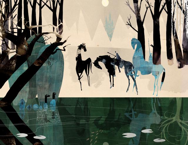 Daniel Egnéus, 'Enchanted Forest, Daybreak', 2014, DECORAZONgallery