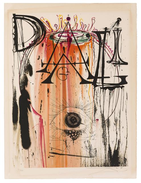 Salvador Dalí, 'Hommage aux Petits Lits Blancs', 1971, John Moran Auctioneers