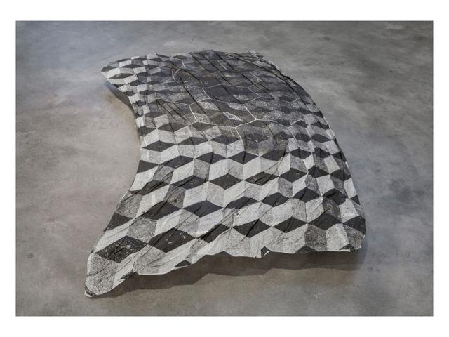 Claudia Cortinez, 'Pasos piedras', 2018, Photography, Gelatin silver emulsion analog photograph on silk., HILO