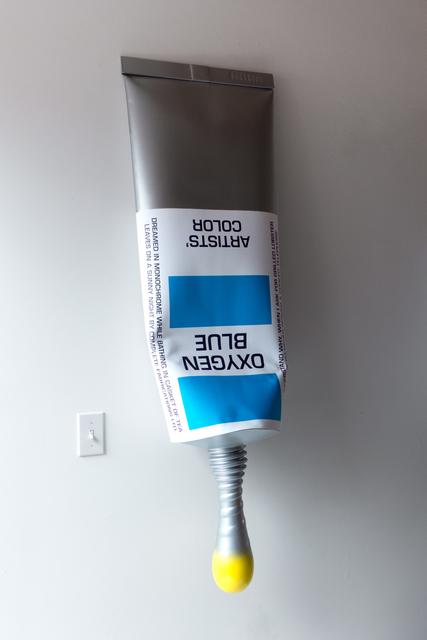 , 'Oxygen Blue,' 2018, Monika Olko Gallery