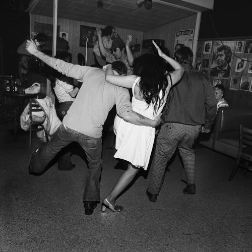 Henry Horenstein, 'Drunk Dancers, Merchant's Cafe, Nashville, TN', 1974, Photography, Gelatin silver print, Scott Nichols Gallery
