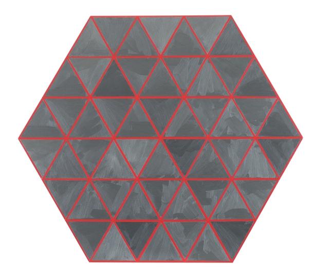 , 'Hexagon,' 2015, Galerie Laurent Strouk