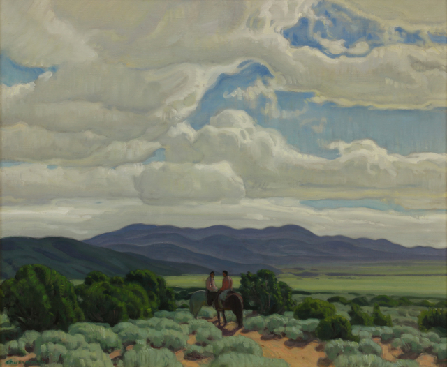 , 'Across the Valley,' , Addison Rowe Gallery