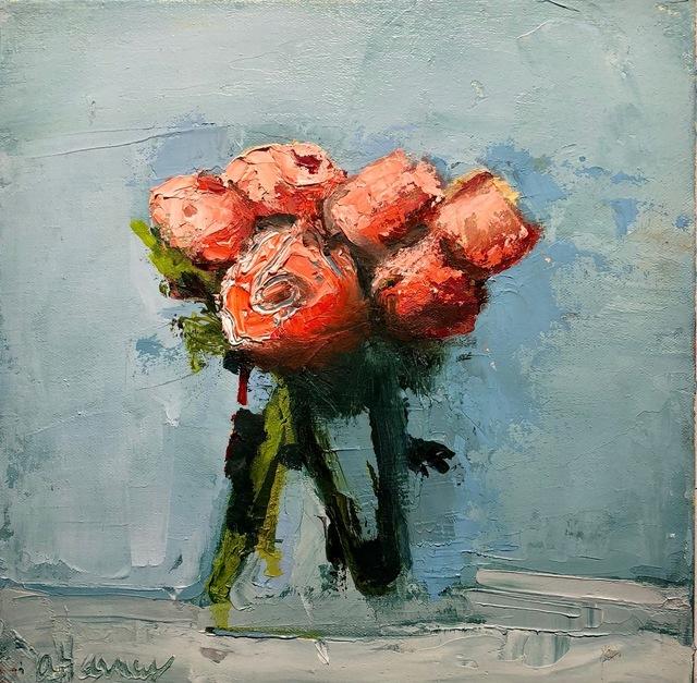 , 'Red Ranunculus,' 2010-2018, Eisenhauer Gallery