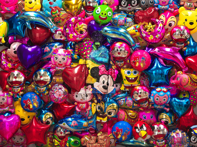 , 'Hiding in the City - Balloons,' 2012, Fabien Castanier Gallery