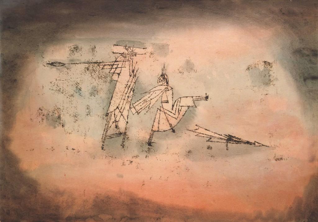 """Paul KLEE """"Attack's Matter, Mind and Symbol"""" 1922 Yokohama Museum of Art"""
