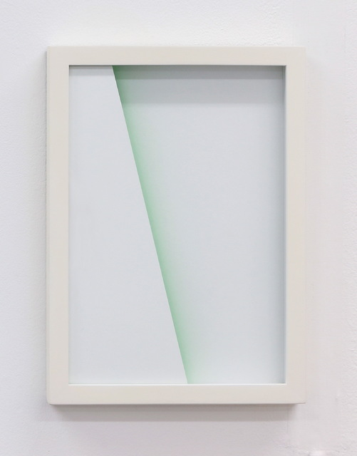 , 'Shade: green scape,' 2015, heliumcowboy
