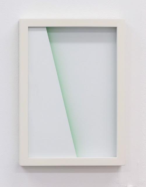 , 'Shade: green scape,' 2015, heliumcowboy
