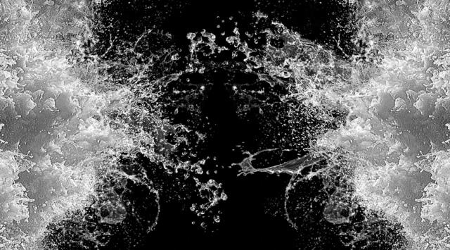 , 'Double Splash,' 2017, BlackBook Presents