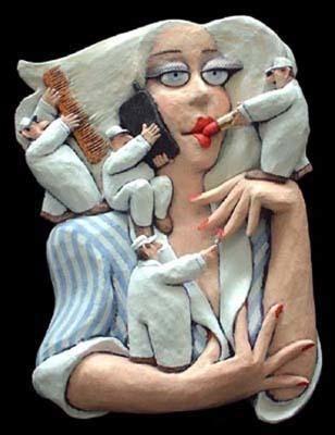 Stephen Hansen, 'High Maintenance', Sculpture, Cast, Painted Hydrocal, Zenith Gallery
