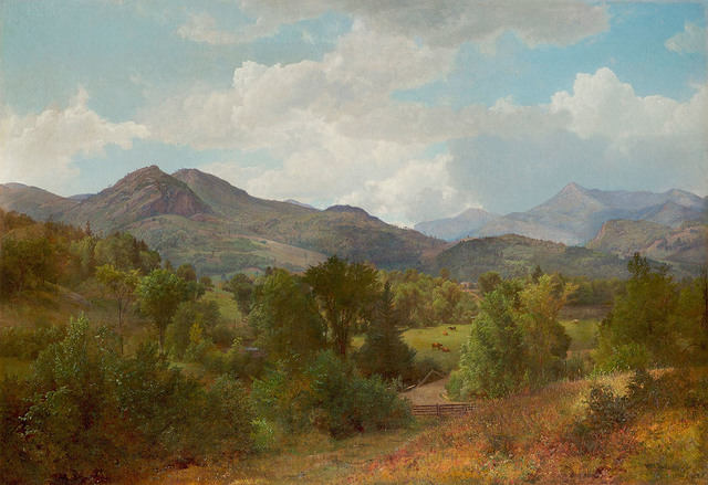 , 'Bouquet Valley in the Adirondacks,' 1863, Questroyal Fine Art