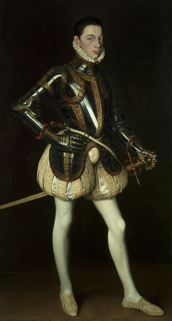 , 'Portrait of Alessandro Farnese wearing armour,' ca. 1561, Robilant + Voena