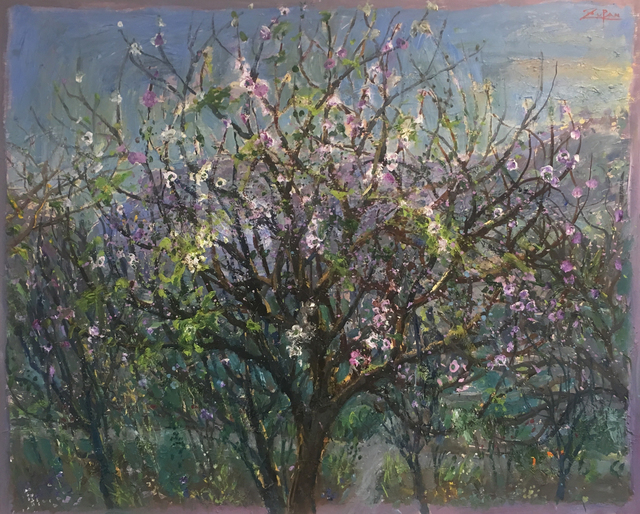 , 'Blossoms in the Valley, Valldemossa,' 2017, Galerie d'Orsay