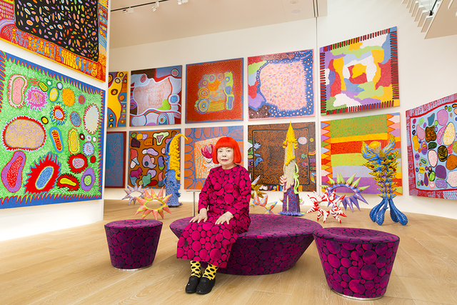, 'Yayoi Kusama with recent works in Tokyo,' 2016, Seattle Art Museum
