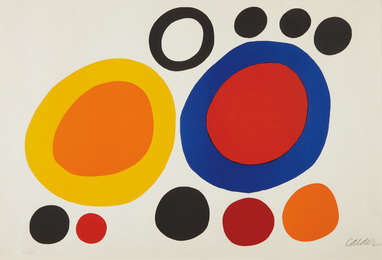 Alexander Calder, 'Rondelles de fumée (Smoke Rings),' 1960, Phillips: Evening and Day Editions (October 2016)