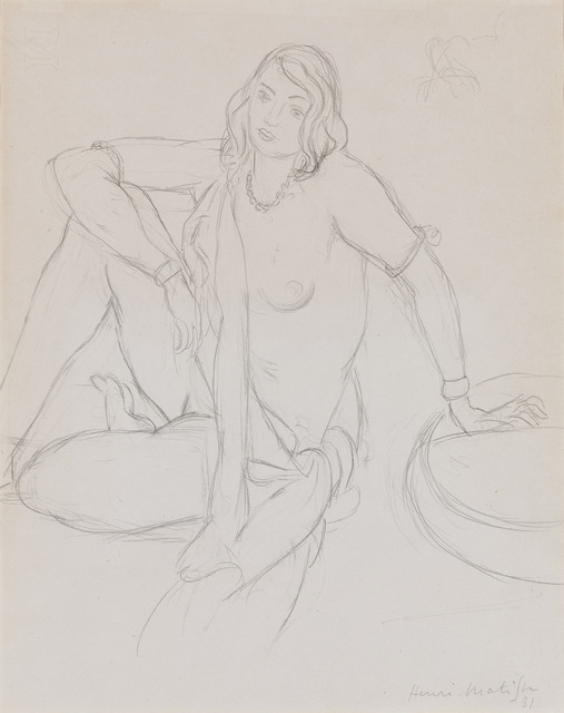 , 'Femme Nue Assise (Seating Female Nude),' 1931, M.S. Rau Antiques