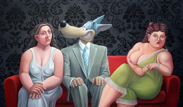 , 'L'hésitation du loup,' 2018, Galerie Deza