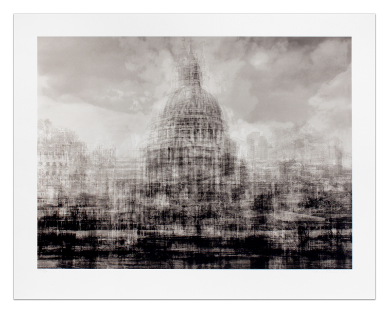 "Idris Khan ""St. Paul's"", from his London series, 2015.