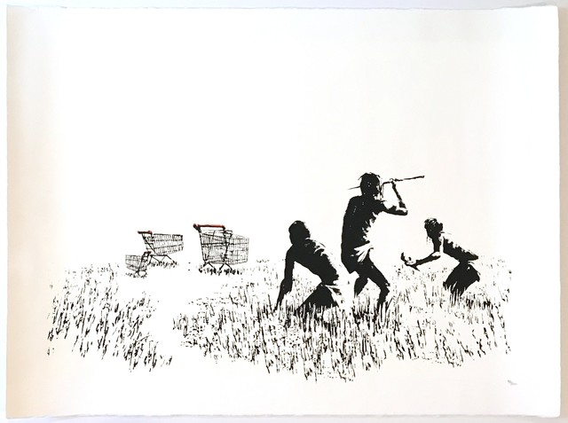 Banksy, 'Trolley Hunters ', 2006, Maddox Gallery