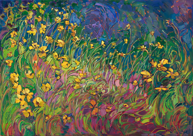 , 'Floral Lights,' 2017, The Erin Hanson Gallery
