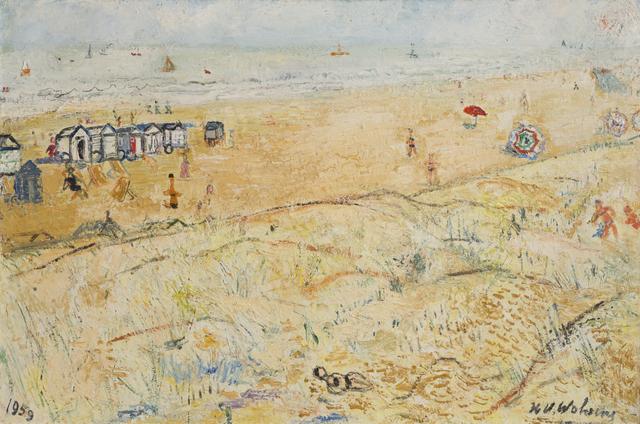 , 'Mer et dunes,' 1959, Musée d'Ixelles