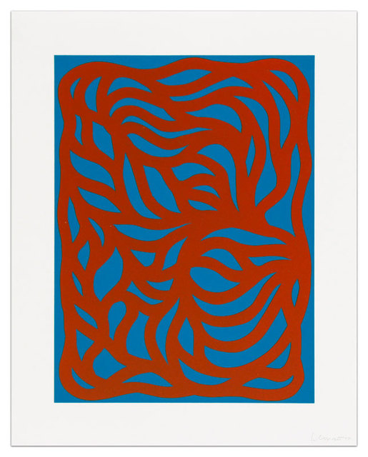 Sol LeWitt, 'Loops, Red/Blue', 1999, Upsilon Gallery