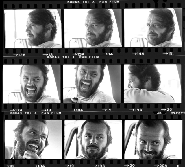, 'Jack Nicholson (Contact Sheet),' 1976, Staley-Wise Gallery