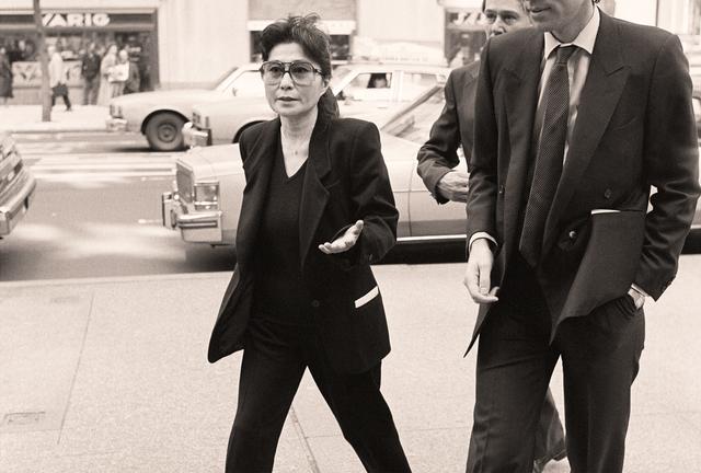, 'Andy Warhol Memorial, 1987: Yoko Ono and Guest,' 2017, Alfstad& Contemporary