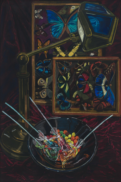 Janet Fish, 'Untitled (Still Life with Butterflies)', 1985, DC Moore Gallery