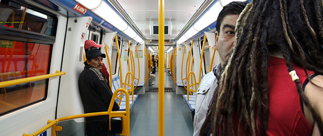 Pablo Zuleta Zahr, 'Madrid Subway Line 9', 2010, Richard Levy Gallery