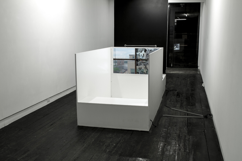 "Installation view of ""Delusion Through Details"" at LMAKgallery