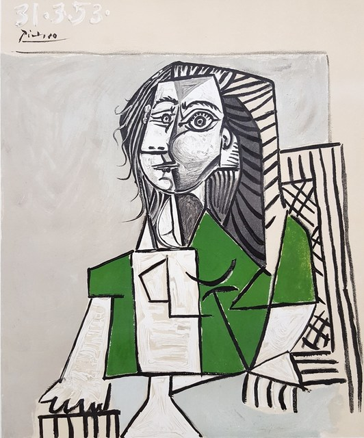 Pablo Picasso, 'Oeuvres Recentes, Galerie Louise Leiris', 1953, Posters, Lithograph, Exhibition Poster, Graves International Art