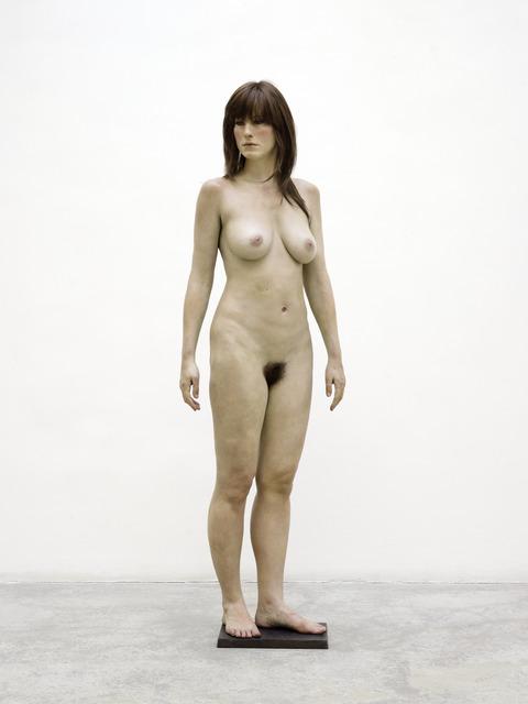 John De Andrea, 'Standing Brunette', 2011, GALERIE GEORGES-PHILIPPE ET NATHALIE VALLOIS
