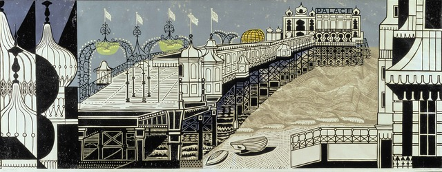 , 'Brighton Pier,' 1958, The Fine Art Society