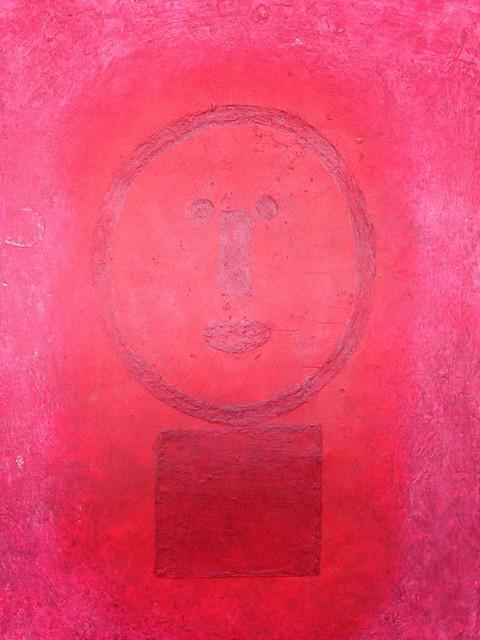 , 'Cara en Rojo,' 1977, LS// Galería