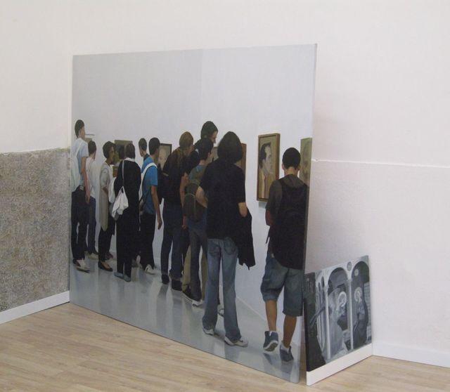 , 'Doble Anunciación,' 2012, Galería Juana de Aizpuru