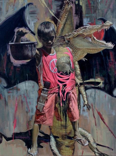 , 'Devoured,' 2015, Qube Gallery