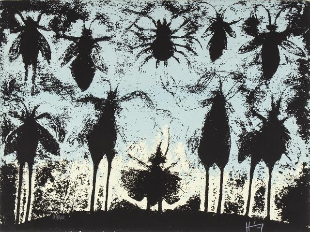 Sergio Hernández, 'Valle de los Insectos', Bernardini Art Gallery & Auction House