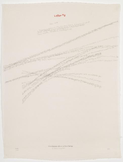, 'Letter #8 ,' 2004, Travesia Cuatro