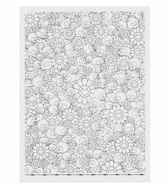 Takashi Murakami, 'SKULLS & FLOWER WHITE COMPLEXCON', 2018, Dope! Gallery