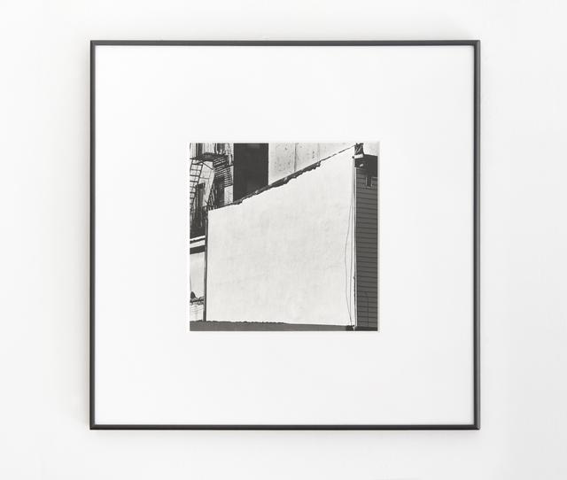 , 'Wall #6,' 2014, Muriel Guépin Gallery