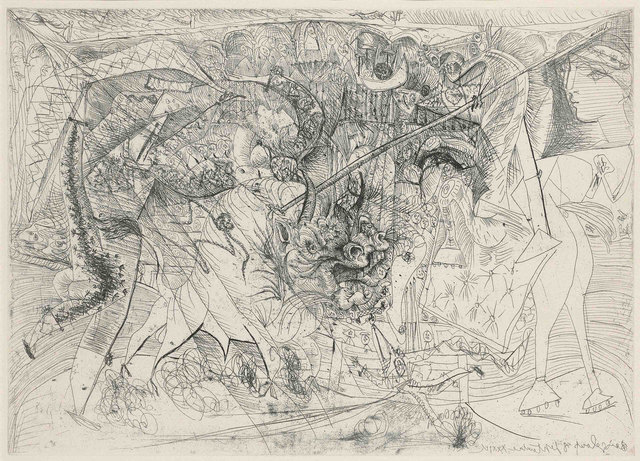 Pablo Picasso, 'La Grande Corrida,  avec Femme Torero  (Bloch 1330)', 1934, Robert Fontaine Gallery