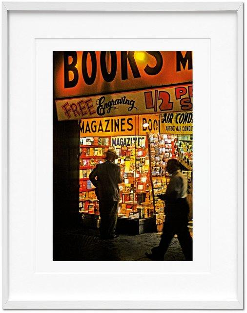 """, 'Marvin E. Newman. Art Edition """"Broadway, 1954"""",' 1954, TASCHEN"""