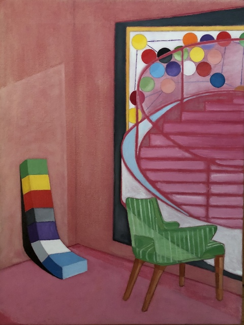 , 'Green Chair,' 2018, Imlay Gallery