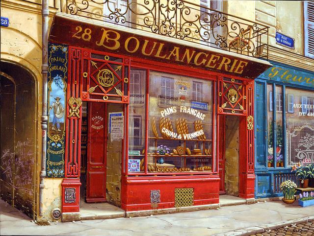 , '28 Boulangerie,' 2001, Martin Lawrence Galleries