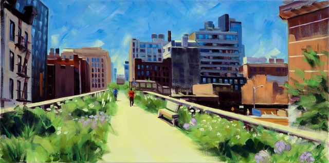 , 'A Summer's Day Retreat,' 2013, Pleiades Gallery