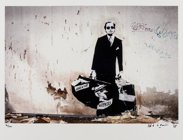Blek le Rat, 'Getting Through the Walls', 2008, Photography, C-print in colours, Forum Auctions