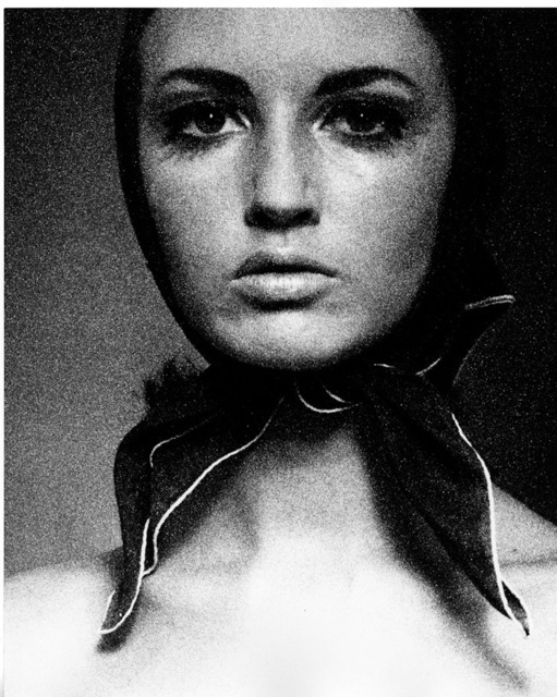 Sam Haskins, 'Nov Girl Face Close Up with Scarf, from November Girl', 1967, Atlas Gallery