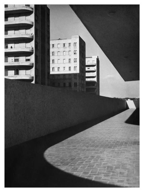 , 'Linhas e Prédios,' 1950, Galeria da Gávea